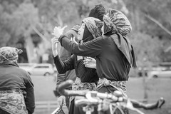 walk together adelaide - oct 2016 - 220407 (liam.jon_d) Tags: aussiessaywelcome realaustralianssaywelcome walktogetherwelcometoaustraliayourewelcomehere youarewelcomehere 2016 mono adelaide arty australia australian bw billdoyle blackandwhite celebration community communityevent event monochrome multicultural parade pickmeset protest rally rallyingimset sa saywelcome southaustralia southaustralian walktogether walktogether2016 welcome welcometoaustralia
