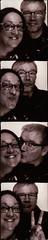 Berlin 17 May 2016 (Delay Tactics) Tags: delay tactics berlin photo booth photokabine black white bw scan kiss peace glasses
