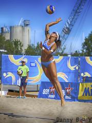 Swatch FIVB Toronto Finals (Danny VB) Tags: fivb swatch beachvolleyball volleyball torontofinals toronto canon 6d summer redbull italy serve