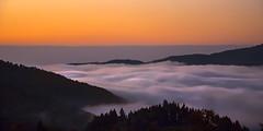 la volupté d'un matin d'octobre (mrieffly) Tags: alsacehautrhin hautesvosges valléedelathur merdenuages leverdujour aurore canoneos50d