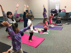Yoga 2 (mcllibrary) Tags: ewing branch youth services event