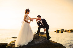 sam and trung wedding (bjossi1. Have a nice day my friends :-)) Tags: wedding outdoor gown canoneos5d