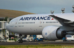 From Paris Orly (Maxime C-M ) Tags: airport martinique caribbean spotting airplane aircraft heavy avion close up french west indies arrival nikon d3200 photography taxi parking plane triple seven 2016 october