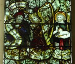 Isaiah, David & St John Baptist, All Saints Pavement, York (Aidan McRae Thomson) Tags: york church allsaintspavement yorkshire stainedglass window victorian kempe