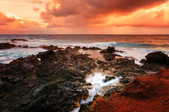 'Red Sands' (JEMiguel007) Tags: red sand beach hana hawaii maui kaihalulu josephmiguel jmp nikon tokina water ocean sky