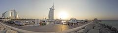 Burj Al Arab (j.ezquerro) Tags: dubai uae burj al arab arquitectura hotel 7 estrellas travel mediooriente sunset jumeirah beach