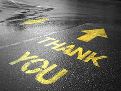 thank you road sign (thankyoudriver.com) Tags: thank you taxi driver southshields