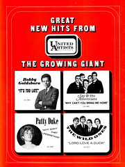1966 United Artists Records (Al Q) Tags: 1966 united artists records bobby goldsboro patty duke jay americans wild ones lord love duck