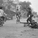 SAIGON 1968 - ARVN Troops Encircle Vietcong Hideout thumbnail