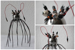 Meduspike (DarVit) Tags: robot recyclage art mduse