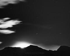 """Alien impact"" (Ronny rbekk - http://arcticphotography.no) Tags: specland flickrsbest monochrome monochrom blackandwhite whiteandblack bw sorthvit sh arctic norge nordnorge norway northernnorway norwegen troms harstad kvfjord winter longexposure langexponering visipix"