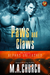 Paws and Claws (CoverReveals) Tags: paranormal romance pnr shifters jaguars mm gay glbt