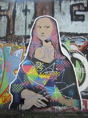 Mona Lisa (hanneorla) Tags: monalisa parquelezama buenosaires argentina mural streetart urbanart graffiti artecallejera arteurbano artecallejero arteurbano grafito backinbuenosaires buenosaires argentina hanneorla2014