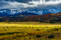 The Double RL Ranch (Guy Schmickle) Tags: colorado doublerlranch mtsneffels sanjuanmountains sneffelsrange autumn storm