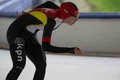 A37W0626 (rieshug 1) Tags: speedskating schaatsen eisschnelllauf skating nkjunioren knsb nkjuniorenallroundafstanden afstanden allround 50010001500massstart demeent alkmaar sportcomplexdemeent juniorenb ladies dames 3000m