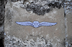 angel head crest (streetwarriors) Tags: ludwig ludwigraphik collage kogi streetart streetwarriors paste up