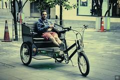 The_Big_Chill (Dragostesun Photography) Tags: bikeman queenstreet aucklandcity tamakimakaurau candid street