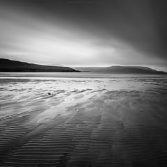 Cape Wrath (Premysl Fojtu) Tags: capewrath landscape seascape sand ripples longexposure ndfilter 1000x canon 5dmkii scotland durness ef1740 monochrome blackandwhite bw square