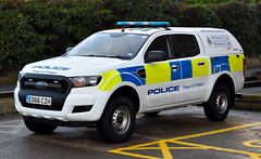 EO66CZH (Cobalt271) Tags: eo66czh northumbria police new ford ranger 22 tdci 4x4 double cab npt vehicle proud to protect livery