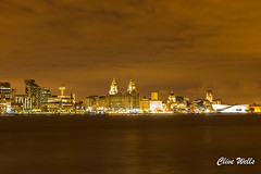 Night view of Liverpool (wells117) Tags: 700d acrossriver canon cathedral city clivewells dock lights liverbuiling liverpool mersey merseyside night nightview river threegraces water waterfront birkenhead england unitedkingdom