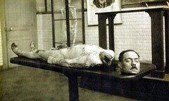 #Photo from the autopsy Albert Fournier, a triple murderer and rapist who had been executed by guillotine in Tours, France in February 1920. [1024x611] #history #retro #vintage #dh #HistoryPorn http://ift.tt/2gZHpBM (Histolines) Tags: histolines history timeline retro vinatage photo from autopsy albert fournier triple murderer rapist who had been executed by guillotine tours france february 1920 1024x611 vintage dh historyporn httpifttt2gzhpbm