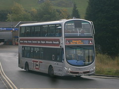 6082 @ Prudhoe (ianjpoole) Tags: goahead north east volvo b9tl wright eclipse gemini nk62flf 6082 working route 10b prudhoe newcastle