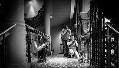 Photographers - Queen Victoria Building (leonsidik.com) Tags: leon sidik fujifilm acros fujifilmacros100 blackwhite street photography australia sydney qvb queenvictoriabuilding summer kids 2016