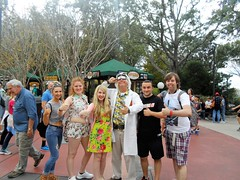 Florida 2016 (Elysia in Wonderland) Tags: orlando florida elysia holiday 2016 universal studios doc brown emmet back future character meet greet clinton pete lucy becca