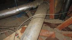 IMG_1442 attic scuttlehole area near furnace ducting (ceztom) Tags: march 14 2016 home goleta new scuttlehole attic