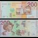 (SVC7za) 1997 El Salvador, Banco Central de Reserva de El Salvador, Doscientos Colones, (A/R)...