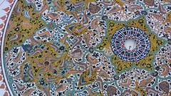 Konya - Mevlana Turbesi, shrine interior, dome (3) (damiandude) Tags: rumi dervish sufi