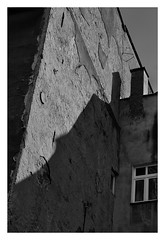 1 (kotmariusz) Tags: wall building city poland świdnica kontrast canon monochrome blackandwhite bw