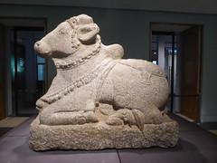 Nandi Bull (Aidan McRae Thomson) Tags: britishmuseum london indian hindu statue sculpture bull nandi