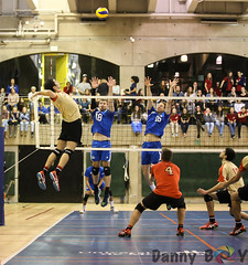 Carabins vs Rouge et Or (Danny VB) Tags: carabins rougeetor laval montreal volleyball university udem sports canon 6d dannyboy kill spike block men