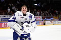 Henrik Haukeland 2016-02-06 (Michael Erhardsson) Tags: henrik haukeland 20160206 tegera arena 2016 matchvinnare vinstmatch leksand lif målvakt hockeyallsvenskan