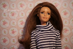 rachel, just day-dreaming (photos4dreams) Tags: anotherdayanotherconcertp4d dress barbie mattel doll toy photos4dreams p4d photos4dreamz barbies girl play fashion fashionistas outfit kleider mode puppenstube tabletopphotography rachel