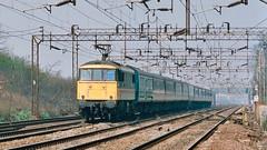 Under the wires (legomanbiffo) Tags: wcml city inter keynes milton hall bleak 86 class
