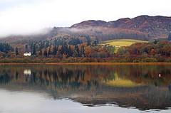 Loch Butterstone (eric robb niven) Tags: ericrobbniven scotland butterstone loch landscape water mist autumn winter