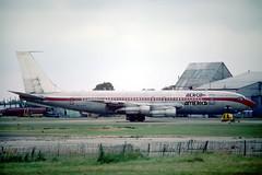 N7522A Boeing 707-123B Aeroamerica (pslg05896) Tags: n7522a boeing707 aeroamerica tigerair stn egss stansted