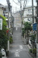 tokyo6088 (tanayan) Tags: urban town cityscape tokyo japan akabane nikon j1    road street alley slope