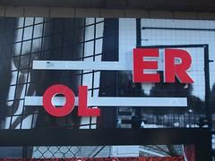 ER OL (mkorsakov) Tags: dortmund city sdstadt kiosk typo werbung commercial ripped rot red antidas adbusting
