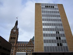 OLD AND NEW (PINOY PHOTOGRAPHER) Tags: milwaukee wisconsin us city hall usa america united states world north