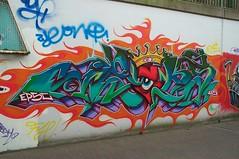 Jeks (Ruhrgebiets Farben) Tags: graffiti 2002 hall fame schrenkamp tunnel gladbeck