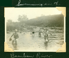 kozer_swimming_bamban_river (American Defenders of Bataan and Corregidor) Tags: war wwii prisoners