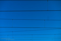 Lines (Daniel Kulinski) Tags: blue sky lines electric train cord photography wire europe power image daniel traction creative picture samsung poland line warsaw 1977 photograhy nx pruszkw pruszkow kulinski nx20 samsungnx samsungimaging danielkulinski samsungnx20