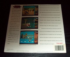 07 Taito - Operation Wolf by Ocean (1988), NTSC Disk Sleeve variant sealed back (Ocean & Imagine Collection) Tags: ntsc taito operationwolf c64sealed stephenwahid colinporch