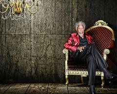 Morgan Freeman (Devin Dygert) Tags: male men celebrity la photo god suit hollywood moviestar actor gq morganfreeman styel devindygert