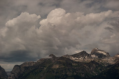 Mountain Storm (BlufoxImages (Larry)) Tags: mountain storm nature clouds nationalpark nikon 85mm snowcapped wyoming grandteton f14g d700