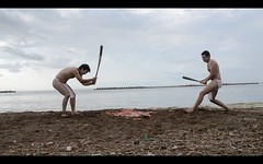 Suikawari (:::Mat:::) Tags: beach smash watermelon fundoshi maturi