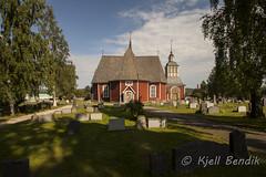 vertorne church, sweden (kjellbendik) Tags: europa himmel sverige ferie kirke bl kirker gr 2013 byggning geografisk naturoglandskap